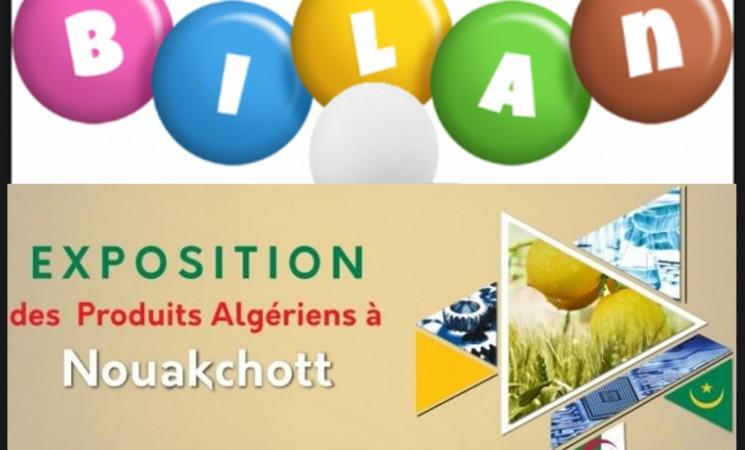 Bilan de la participation des entreprises de Boumerdès a l'exposition spécifique de produits algériens à Nouakchott (Mauritanie), du 23 au 29 octobre 2018