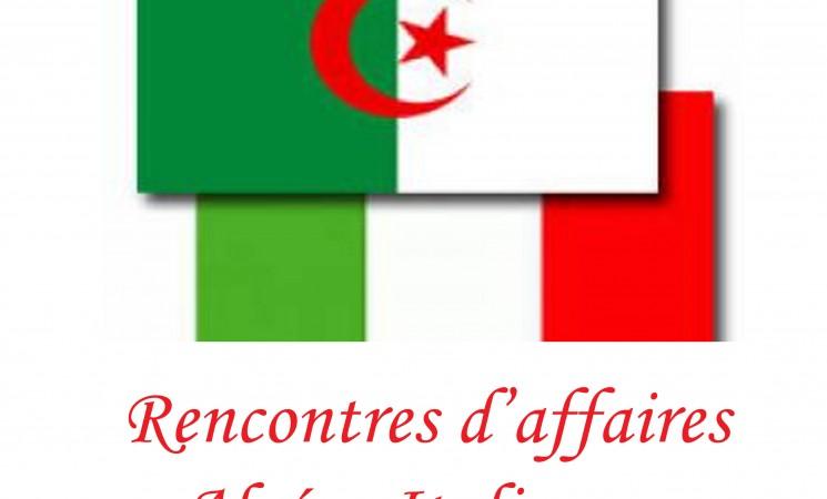 Rencontres d'affaires Algéro-Italiennes.