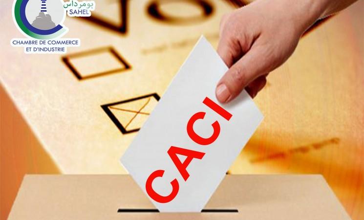 Elections de la Chambre Algérienne de Commerce et d'Industrie CACI