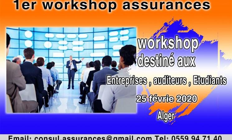 1er Workshop d'assurances.